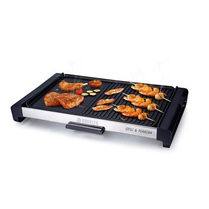 barbecue electrique grande surface de cuisson