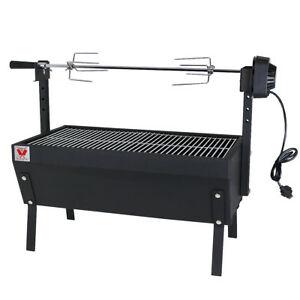 barbecue charbon broche