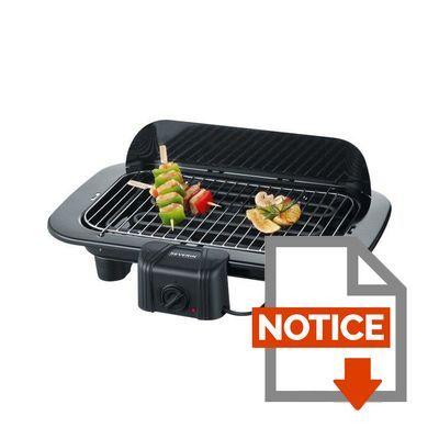 barbecue electrique notice