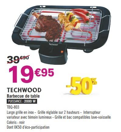 barbecue electrique casino