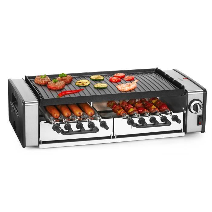 barbecue electrique grille inox
